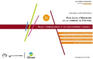 Icon of Projet d'amenagement et de developpement durable