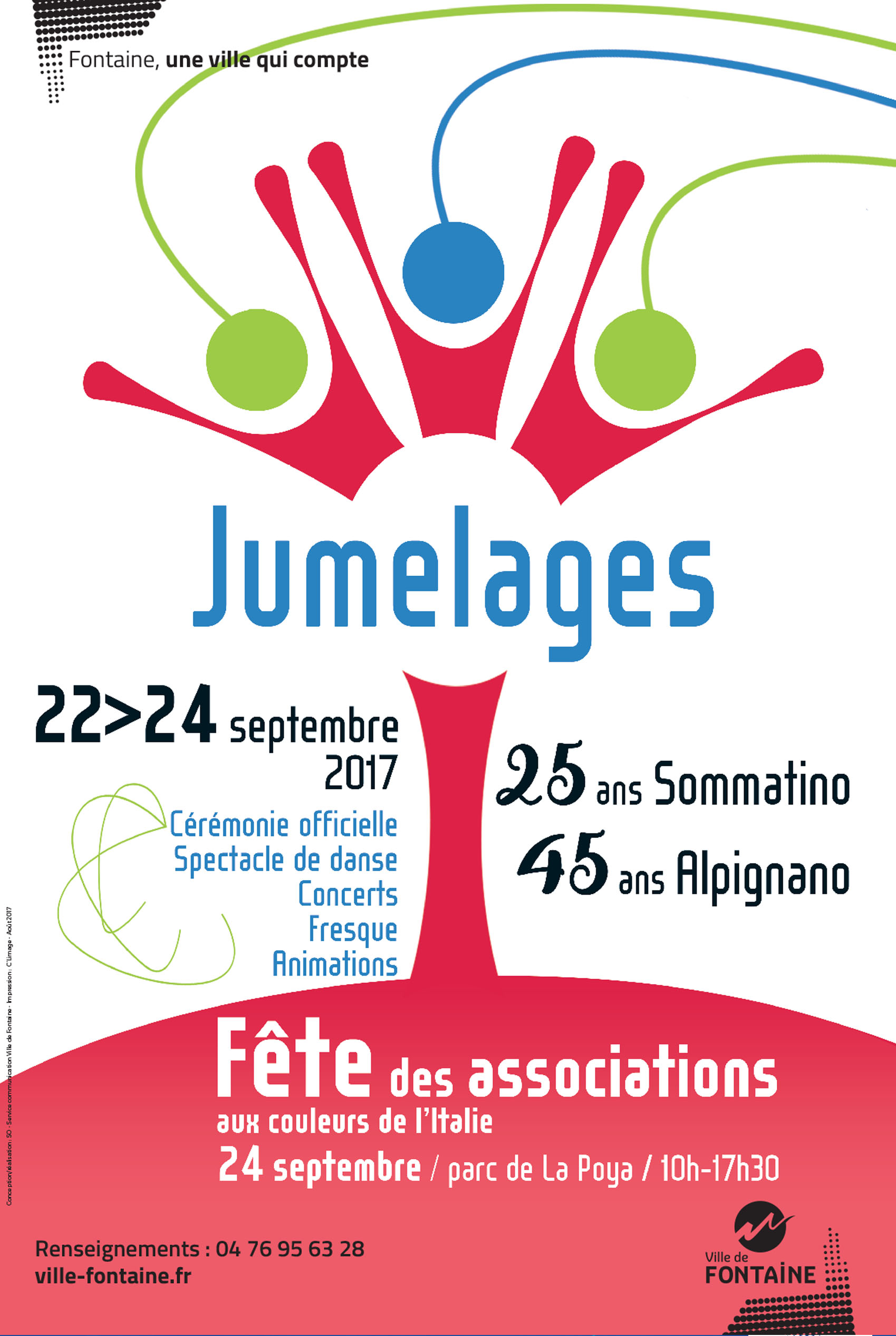 45e anniversaire de jumelage Fontaine-Alpignano