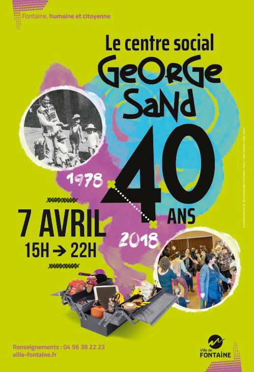 40 ans du centre social George Sand