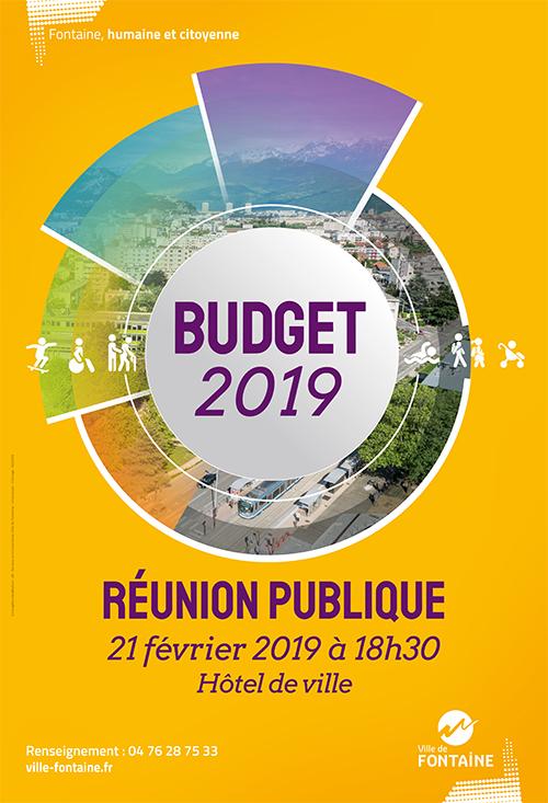 Réunion publique budget