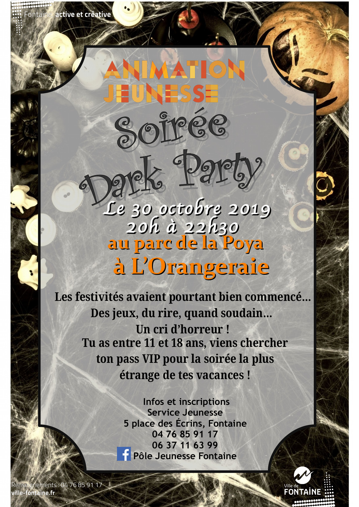 Soirée Dark party