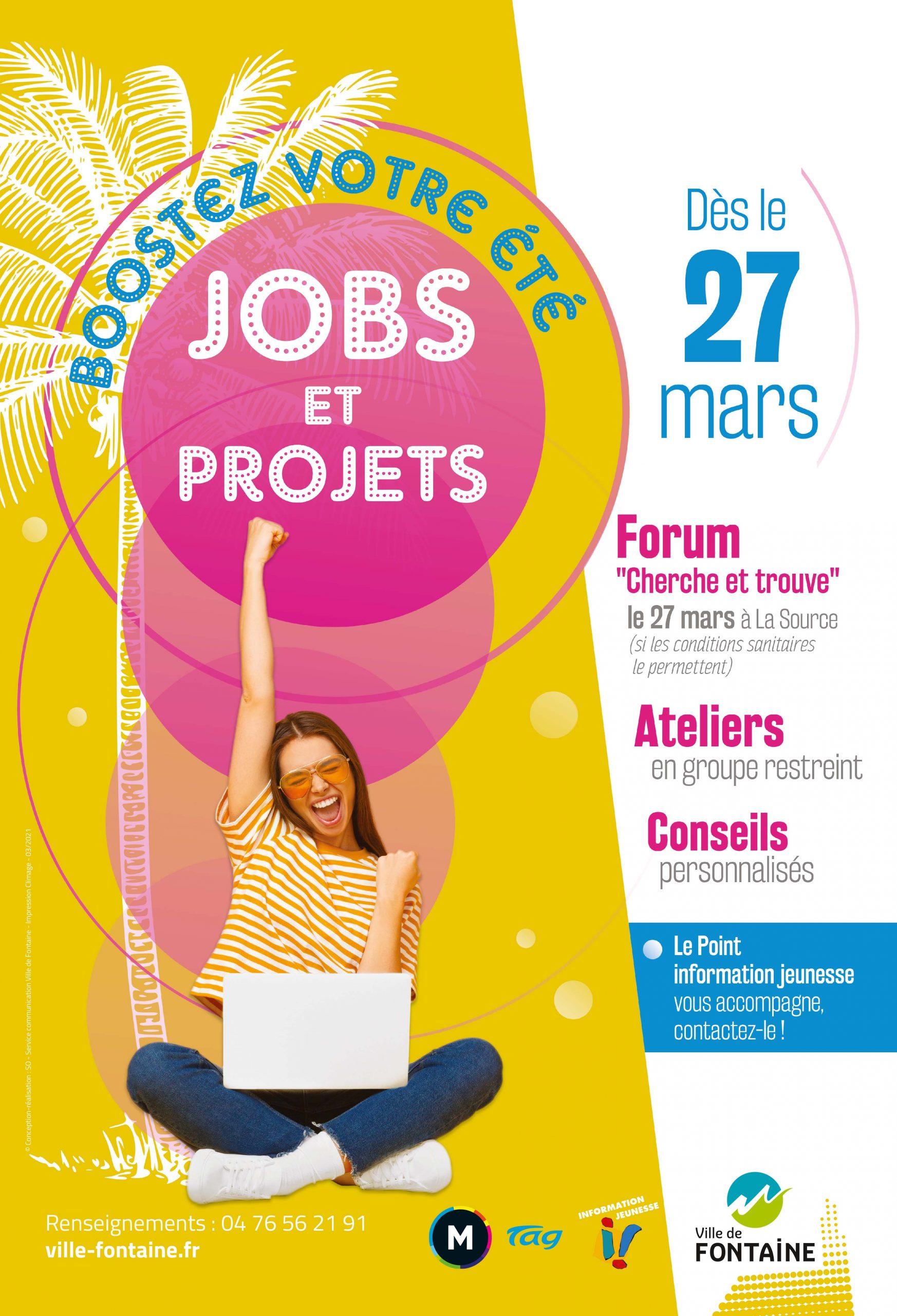 Forum jobs d'été Cherche et trouve